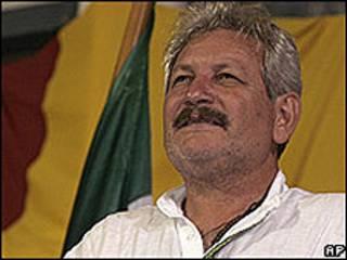 Ruben Costas, prefecto de Santa Cruz