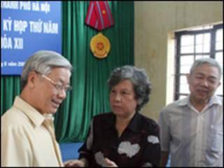 Chủ tịch Quốc hội Nguyễn Phú Trọng