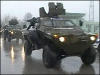 شورش نظامی در گرجستان سرکوب شد