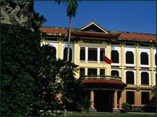 Bảo tàng Mỹ thuật Việt Nam. Ảnh: Marcus Wilson-Smith / Alamy đăng trên Time