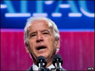 O vice-presidente dos Estados Unidos, Joe Biden
