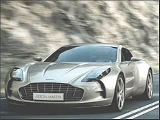 One-77, da Aston Martin
