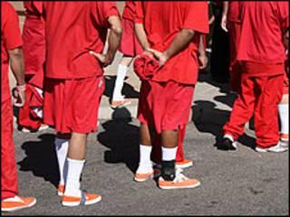 Centros de detención de indocumentados