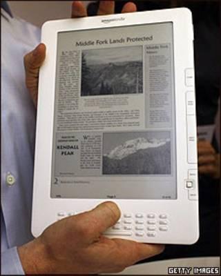 Imagen del nuevo Kindle XD de Amazon, un lector digital de última generación.