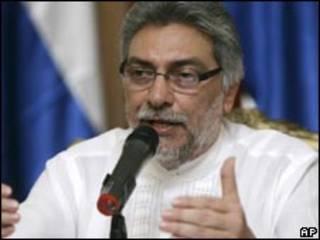 O presidente do Paraguai, Fernando Lugo (AP, 24/4)