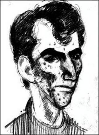 Retrato-falado de suspeito (Foto: Divulgação)