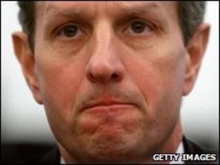 O secretário do Tesouro americano, Timothy Geithner