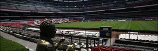 Estadio Azteca de Ciudad de México. Foto: 08/05/09