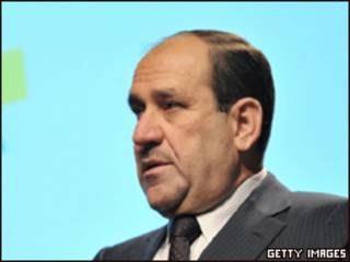 O primeiro-ministro do Iraque, Nouri al-Maliki (foto de arquivo)