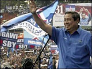 Đương kim tổng thống Susilo Bambang Yudhoyono