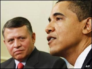اوباما و ملک عبدالله