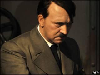 Estátua de cera de Hitler exposta em Berlim (AFP)