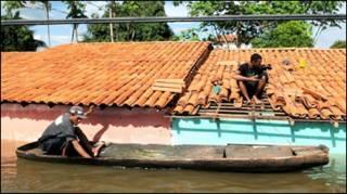 د برازیل سیلابونه