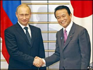 Putin và Aso