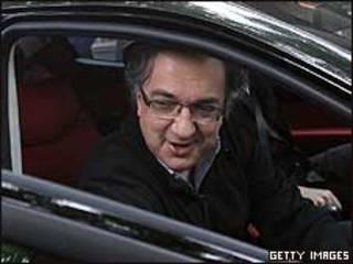 Sergio Marchionne, gerente ejecutivo de Fiat