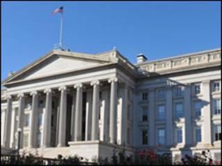 ساختمان خزانه داری آمریکا در واشنگتن