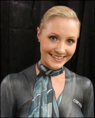 Comissária de bordo da Air New Zealand