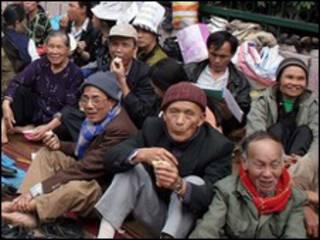 Một vụ biểu tình của nông dân về đất đai hồi năm 2007 tại Hà Nội