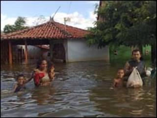 Vítimas das enchentes no Maranhão