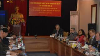 UB tự do tôn giáo gặp Bộ công an Việt Nam