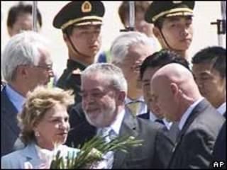 Marisa e Lula na China