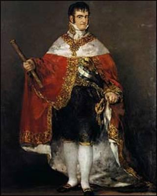 Fernando VII, por Francisco de Goya