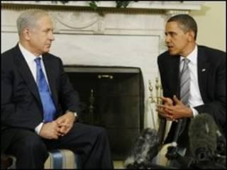 اوباما و نتانیاهو در کاخ سفید