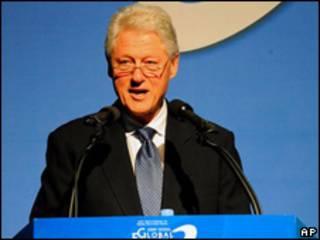Bill Clinton, ex presidente de EE.UU.