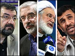 نامزدهای دهمین دوره انتخابات ریاست جمهوری ایران