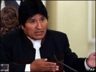 O presidente da Bolívia, Evo Morales (AP,11/5)