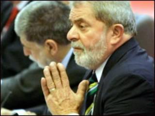 Luiz Inácio da Silva em visita à China