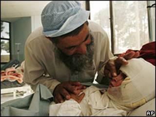 Niño herido en Farah