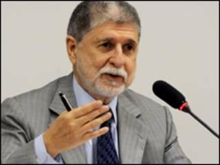 O chanceler Celso Amorim. Foto: Antônio Cruz/Abr