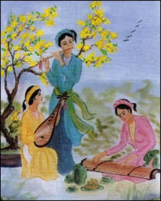 Cảnh xuân VN, ảnh từ trang mạng TTVH Nguyễn Trường Tộ