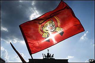Bandera de los Tigres Tamiles