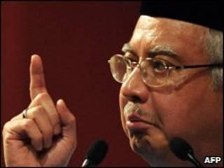 Thủ tướng Malaysia Datuk Najib Razak