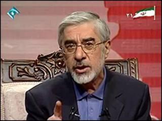 میرحسین موسوی در شبکه یک تلویزیون