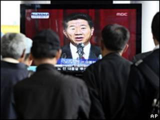 Ông Roh xin lỗi dân chúng trên truyền hình sau khi bị cáo buộc tham nhũng