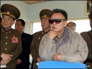 کیم جونگ ایل رهبر کره شمالی