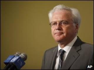 ویتالی چورکین رئیس جلسه شورای امنیت