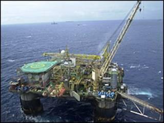 Estação de exploração petrolífera da Petrobras (Agência Brasil)