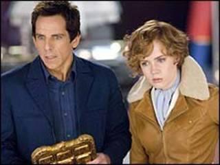 Ben Stiller và Amy Adams trong phim 'Night at the Museum 2'