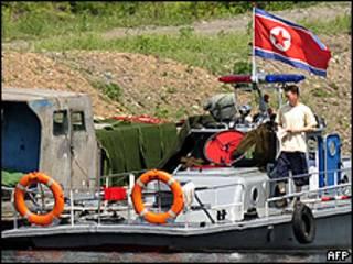 Patrulha norte-coreana na fronteira do país