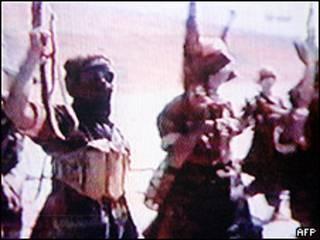 Entrenamiento al-Qaeda en Afganistán