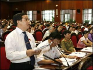 Đại biểu Điểu K'Ré của tỉnh Đăk Nông