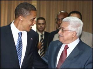 عباس و اوباما