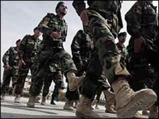 نیروهای ارتش افغانستان