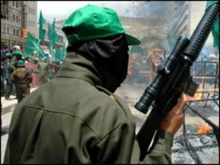 عضو مسلح حماس