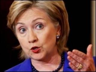 Ngoại trưởng Hoa Kỳ Hilary Clinton