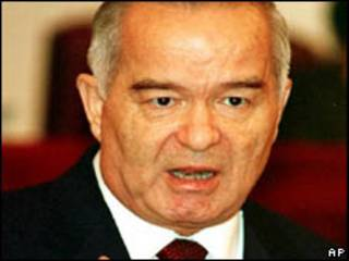 Islam Karimov, presidente do Uzbequistão (AP/arquivo)